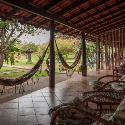 Porches with hammocks