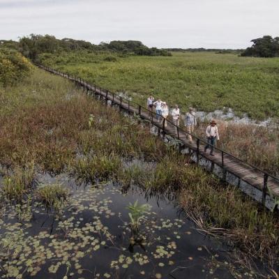 Caminhadas em trilhas ecológicas