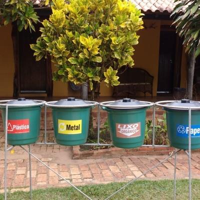 Separamos e reciclamos