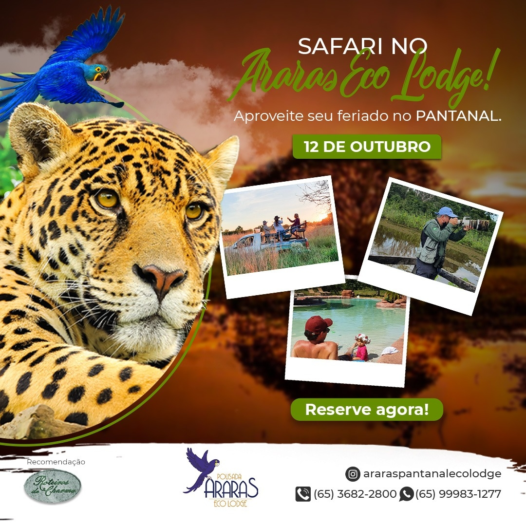 12 de outubro - Dia das crianças no Pantanal