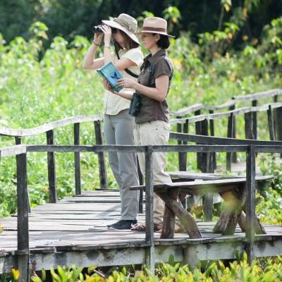Estabelecimento de 2.890 hectares de Reserva Particular ao redor da pousada