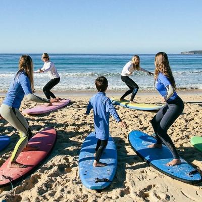 Aula de surf