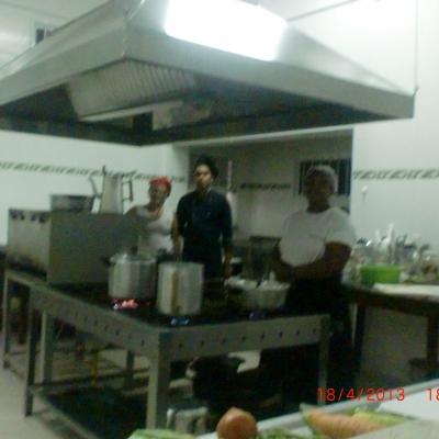 Treinamento em gastronomia